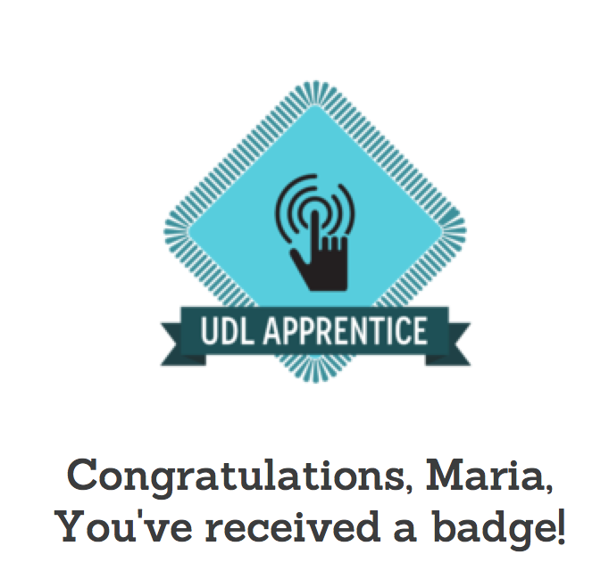 UDL Digital Badge